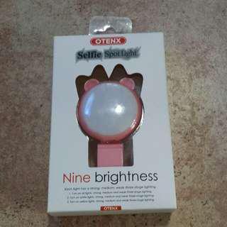 Otenx Selfie spot light 自拍打燈神器