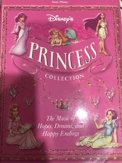 Disney Princess collection music book