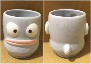 ** 分享 ** Sanrio Hangyodon 水怪 陶瓷人形茶杯