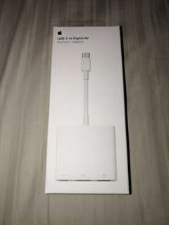 Apple USB C to Digital AV adapter - Authentic Apple product - New and Sealed