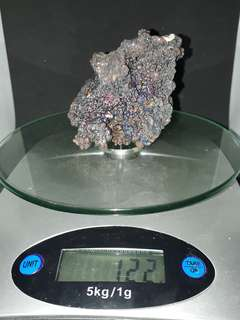 Beautiful Premium rainbow leklai ( Rainbow Goethite ) weight 122gm est. Self collection at hougang ave8 or Punggol Drive under my blk