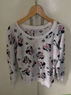 authentic minnie mouse pullover