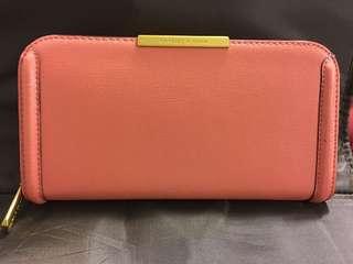 Charles & Keith long zip wallet 21x11x2.5cm