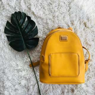 Colette Mustard Yellow Backpack