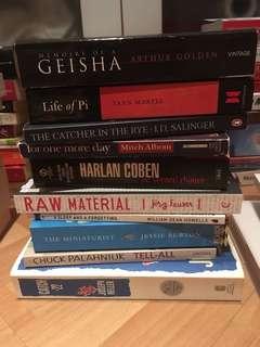 Book Bundle E (10 books!)