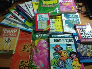 A Big Lot of Books for Children (P3&4) + all Parents, total 19pcs