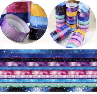 10 pieces of washi tape