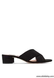 Mango block heels
