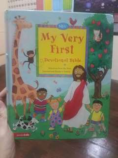 My first Bible Devo for Kids