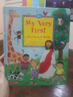 My first Bible Devo for Kids