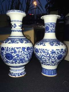 Porcelain china vase