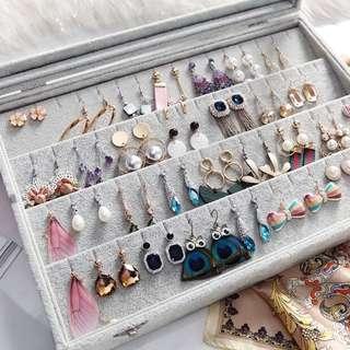 Earrings Organizer/ Box