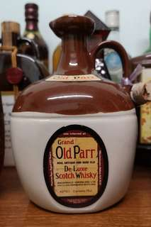 Grand Old Parr De Luxe Scotch Whisky 瓷樽 威士忌