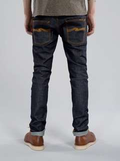 Nudie jeans tape ted indigo size 36 used HARGA PAS