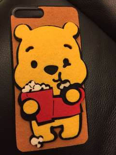 iPhone 7plus Winnie the pooh case