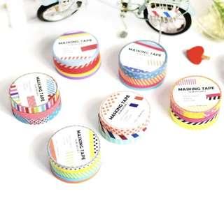 Washi Tapes set