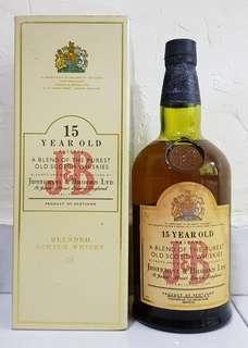 J&B WHISKY 15 YO 80s