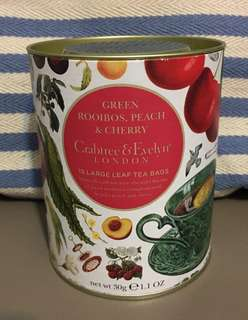 Crabtree 茶包 (Green Rooibos, Peach & Cherry)