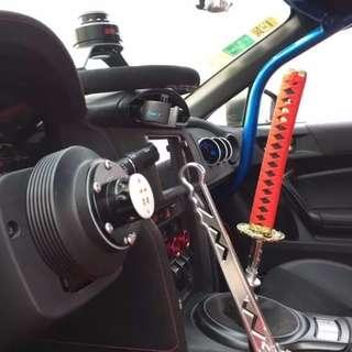 25cm Car JDM Samurai Sword Racing KATANA Gear Shift Knob Universal