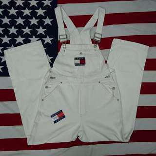 Vintage 90's Tommy Hilfiger Dungarees Overall