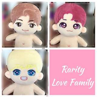 BTS - Passion Kookie / TaeTae / Monie doll