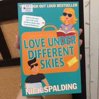 Love under different skies bu Nick Palding (english novel)