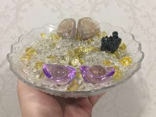 Crystals charging cleansing bowl