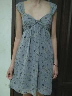 Dress purple grey