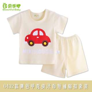 🔥Ready Stock🔥Baby Boy Girl Kid Child Clothes Clothing Suit Shirt+Pants Set