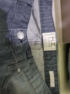 H.E. MANGO MEN'S Grey JEANS 34 slim fit pre loved