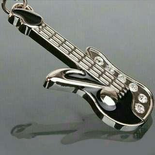 Gantungan tas/kunci guitar