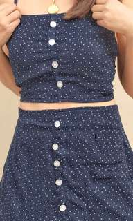 Terno blue polka dots (trend terno)