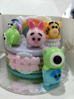 Homemade 3D Agar Agar Cake
