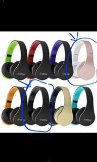 Andoer Digital 4 in 1 Multifunctional LH-811 Stereo Bluetooth Wireless Headset with Microphone (Pink & Black only)