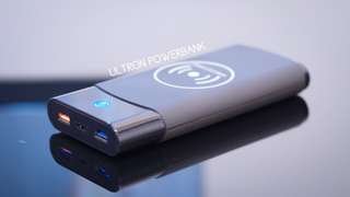 ULTRON: Graphene Based Wireless Power Bank 20,000mAh for iphone X Samsung Galaxy S9 Plus Note 8 Macbook