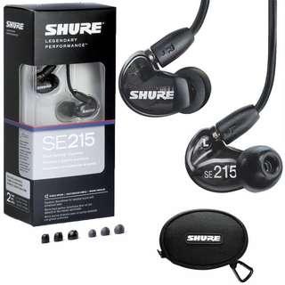 🚚 Shure SE215 Noise isolating earphones