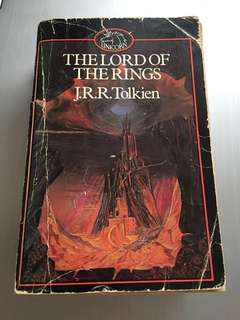 The Lord of the Rings one-volume 1983 edition Unicorn