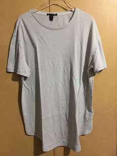 Forever 21 Long-Line Shirt