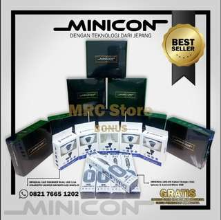 ORIGINAL MINICON GRS.10 THN - BONUS CABLE, CAR CHARGER DUAL USB