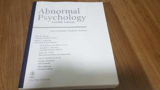 PY3103 Psychopathology Textbook