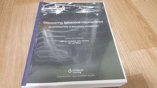 PY2101 Psychological Neuroscience (Brain & Behaviour) Textbook