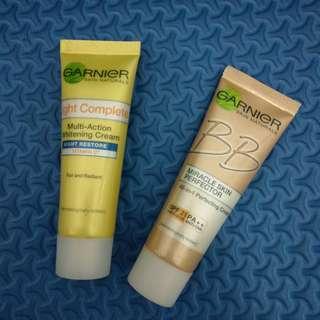 /preloved/ Garnier cream