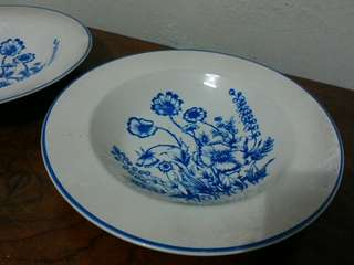 piring makan keramik tebal antik