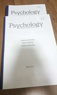 PY1101 & PY1102 Introduction to Psychology Textbook