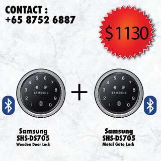 Samsung Shu-ds705 digital lock Bundle
