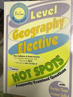 🚚 O level Geography Elective Hot Spots
