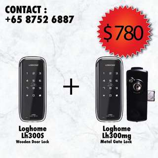 Loghome lh300 digital lock bundle