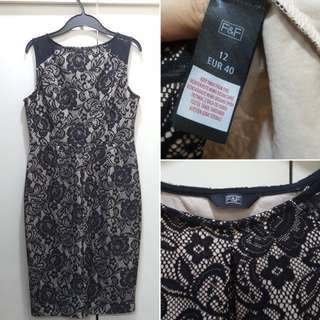 F&F Formal Lace Dress