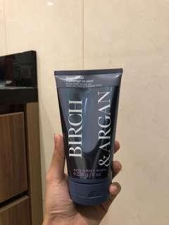 Bath and Body Works: Birch & Argan Sugar Scrub (Limited Edition)