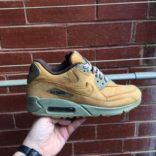 NIKE Men's Air Max 90 Wheat Size 8